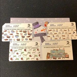 COPY - Seinfeld set of new Metrocards 4 cards
